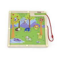 """Игра Viga Toys """"Джунгли"""" (50194), настольные игры для детей"""