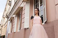 Юбка и топ на выпускной,свадьбу цвета пудры