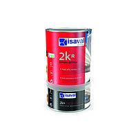 Полиуретановый матовый, полуматовый, глянцевый лак для бетонного пола 2Кр ISAVAL 0,75л