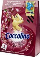 Освежытель для шкафа Cocolino Fiori di Tiare e Frutti Rossi 3 шт.