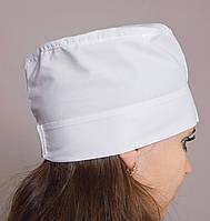 Шапочка медицинская женская белая