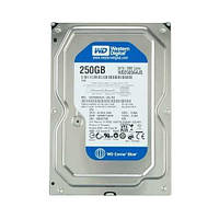 Б/У Жесткий диск Western Digital Caviar Blue 250GB 7200rpm 8MB 3.5 SATAII (WD2500AAJS)