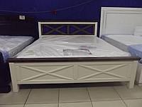 Двухспальная , деревянная кровать 2-2-5-207