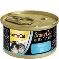 Gimpet ShinyCat Kitten с тунцом 70 гр.