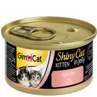 Gimpet ShinyCat Kitten с курицей 70 гр.