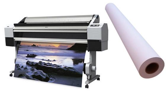 Самоклеящаяся полипропиленовая фотобумага для струйных принтеров, глянцевая, 150 г/м2, 1270 мм х 30 м