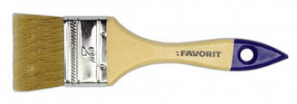 Кисть флейцевая Favorit Стандарт 63,5 мм (деревянная рукоять)