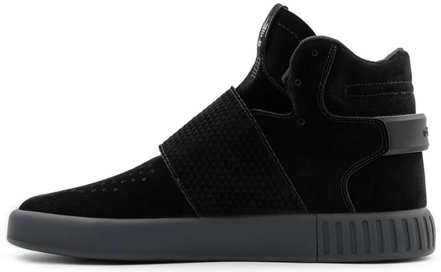 Мужские кроссовки Adidas Tubular Invader Strap Core Black - Интернет-магазин  обуви и одежды в a6589988e36