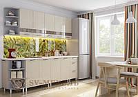 Кухня Лен 2 метра без столешницы ф-ка SV Мебель