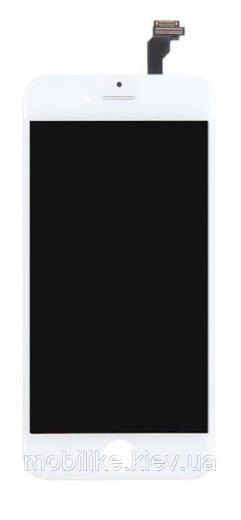 Дисплей с сенсорным экраном iPhone 6+ WHITE AAA