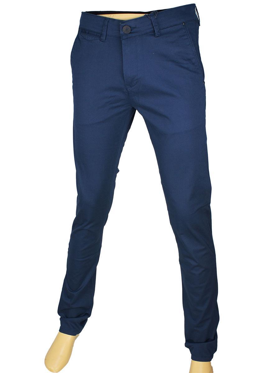 Мужские джинсы X-Foot 170-7023 в темно-синем цвете