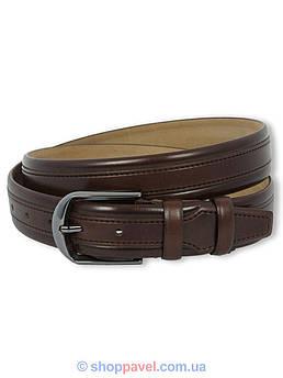 Мужской кожаный ремень Tony Belluci 1162 коричневого цвета