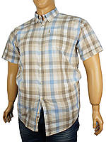 Рубашка мужская большого размера Barcotti 0340 B клетка