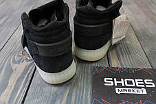 Мужские кроссовки Adidas Tubular Invader Strap Black/White BB5037, Адидас Тубулар, фото 2