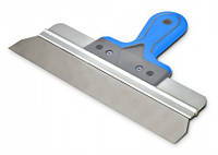 Шпатель стальной Favorit c двухкомпонентной ручкой 400 мм