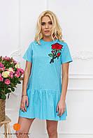 Платье из хлопка Роза