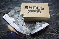 Мужские кроссовки Nike Air Huarache Wolf Grey 634835-004, Найк Аир Хуарачи, фото 3