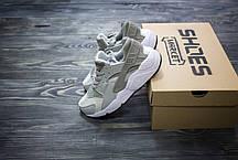Мужские кроссовки Nike Air Huarache Wolf Grey 634835-004, Найк Аир Хуарачи, фото 2