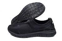 Кроссовки мужские Nike Air черные (найк), фото 1