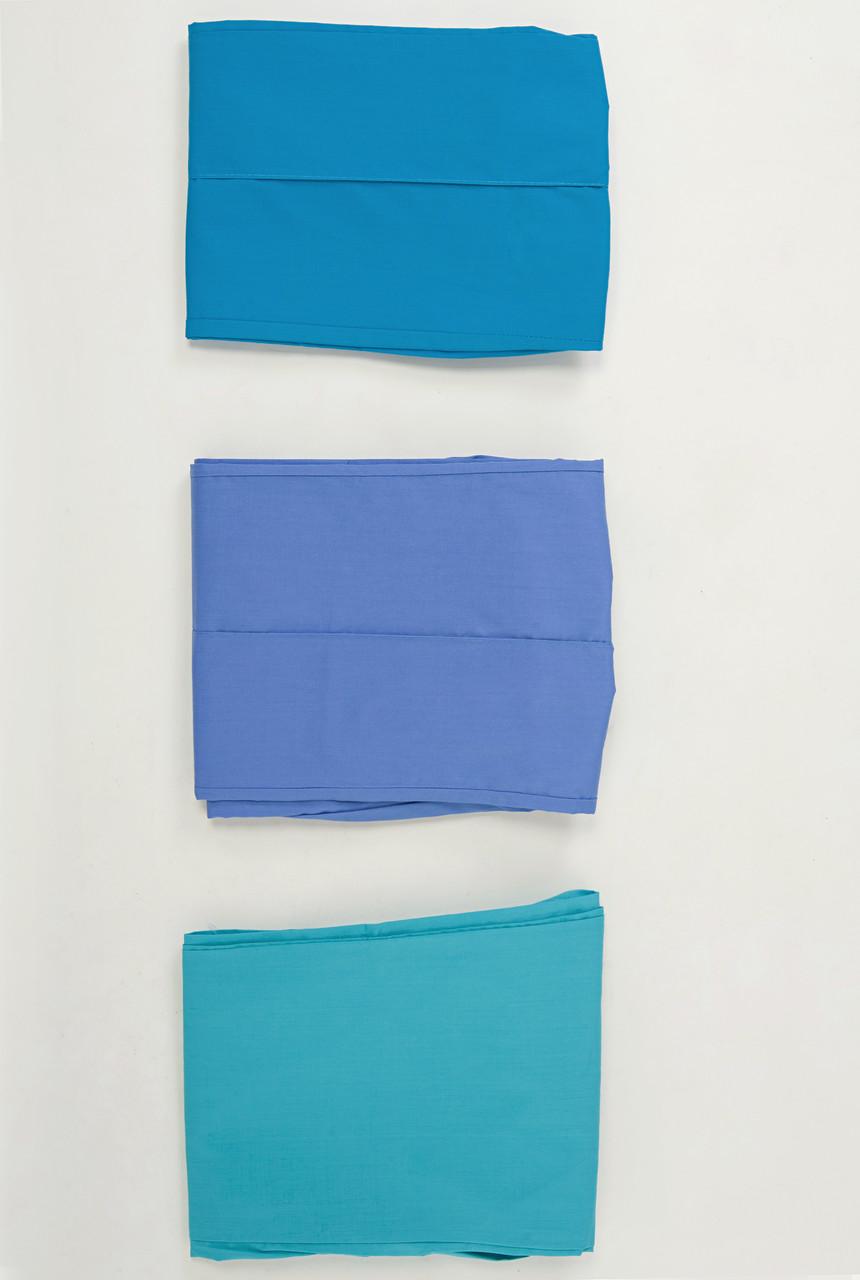 Медицинские женские штаны синих цветов