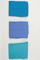 Медицинская женская шапочка в синих цветах