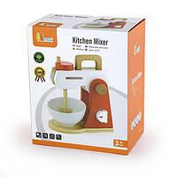 """Игрушка Viga Toys """"Кухонный миксер"""", детская кофеварка, деревянные эко-игрушки"""
