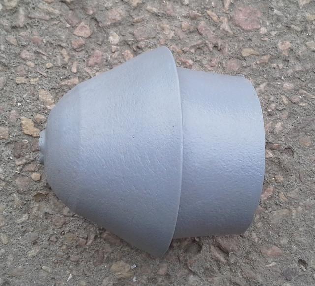 Заглушка нижняя для фильтра обсадной трубы 125 мм