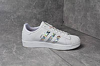 Кроссовки ADIDAS SUPERSTAR SILVER РОМБ