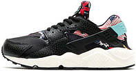 Мужские кроссовки Nike Air Huarache Run Aloha Black, найк хуарачи