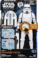 """Интерактивная фигурка Звёздные войны """"Штурмовик"""" 30 см Hasbro Star Wars InteracTech Stormtrooper"""