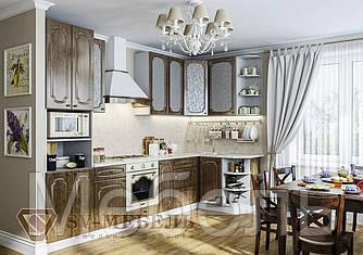 Кухня Классика МДФ 2 метра без столешницы ф-ка SV Мебель