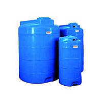 Накопительный бак для воды и других жидкостей ELBI CV 3000 литров, круглый вертикальный, фото 2