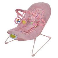 Шезлонг детский 30602 Bambi, розовый