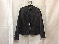 Школьный пиджак на девочку 6-10 лет,черный