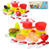 Игровой набор посуда с продуктами 666-29-30