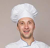 Мужская медицинская шапка белого цвета