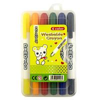 Мелок-карандаш смываемый,набор 6 цветов