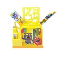 Набор настольный детский 8 предметов 9154-3 Монстрики