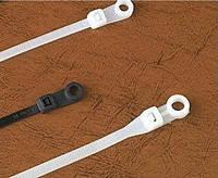 Кабельная стяжка с кольцом под монтаж белый 4,3*220мм (100шт.) CHS-200МТ