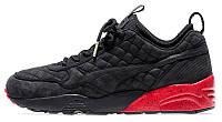 Мужские кроссовки Ronnie Fieg x Highsnobiety x Puma RF698 Black/Red