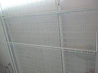Корзина проволочная 950х100х130 на торговую сетку