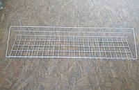 Корзина проволочная 950х200х130 на торговую сетку