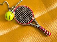 Кулон теннисная ракетка