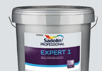 EXPERT 1 10л - полноматовая интерьерная краска
