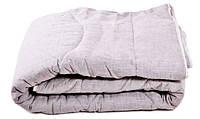 Одеяло в льняном чехле стеганое