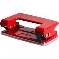 Дырокол металлический 8202 mini(10х5х3) красный