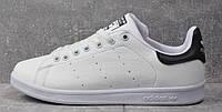 Кроссовки Adidas Stan Smith (Бело-черные ) СУПЕР КАЧЕСТВО! СКИДКА -25%