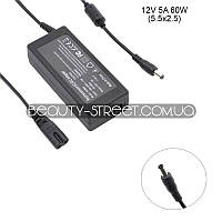 Блок питания для LCD монитора 12V 5A 60W 5.5x2.5 (B) оптом от 200$