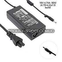 Блок питания для ноутбука HP/Compaq 19V 4.74A 90W (4.75+4.2)x1.6 (B) оптом от 200$