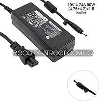 Блок питания для ноутбука HP/Compaq 19V 4.74A 90W (4.75+4.2)x1.6 bullet (original) оптом от 200$